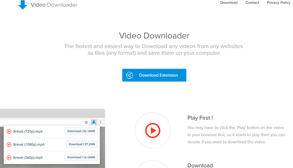 Video Downloader профессиональный